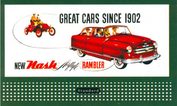 Retro Billboard Cards - Autos (402-3005)