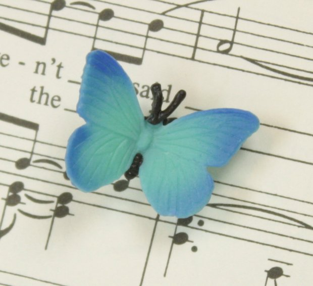 "Butterfly - 1"" - Set of 4 - 1"" Tall - 234-0522"