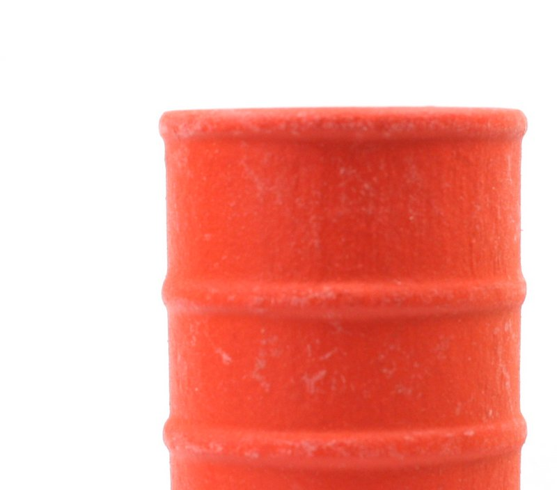 G Scale - OSHA Large Orange Barrels - Set of 4 - SPDLS-064