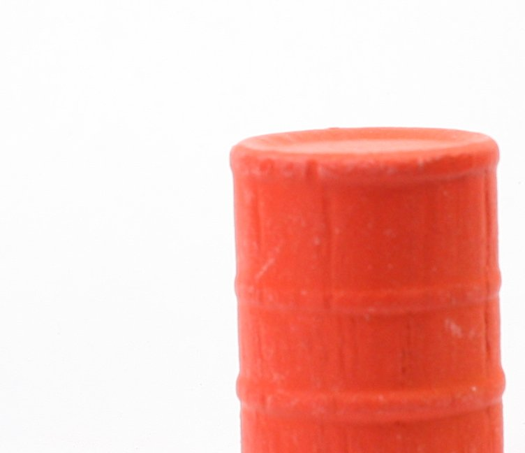 G Scale - OSHA Small Orange Barrels - Set of 6 - SPDLS-065