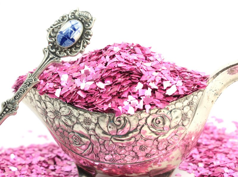 Rose - Pastel Rose Super Shard Glitter