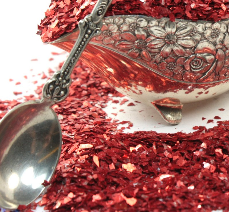 Red Super Shard Glitter