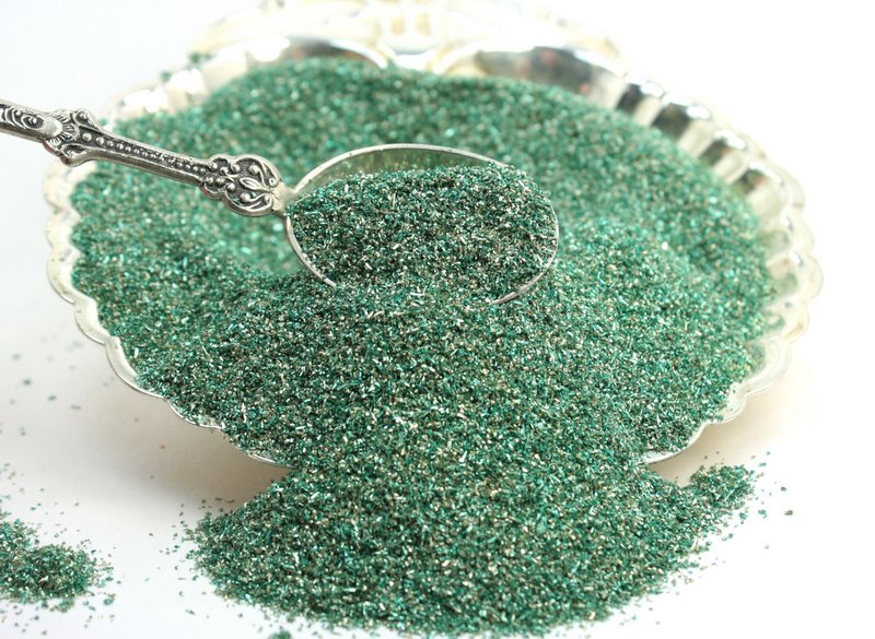Green Sea Foam -  Glass Glitter - 311-Sea Foam