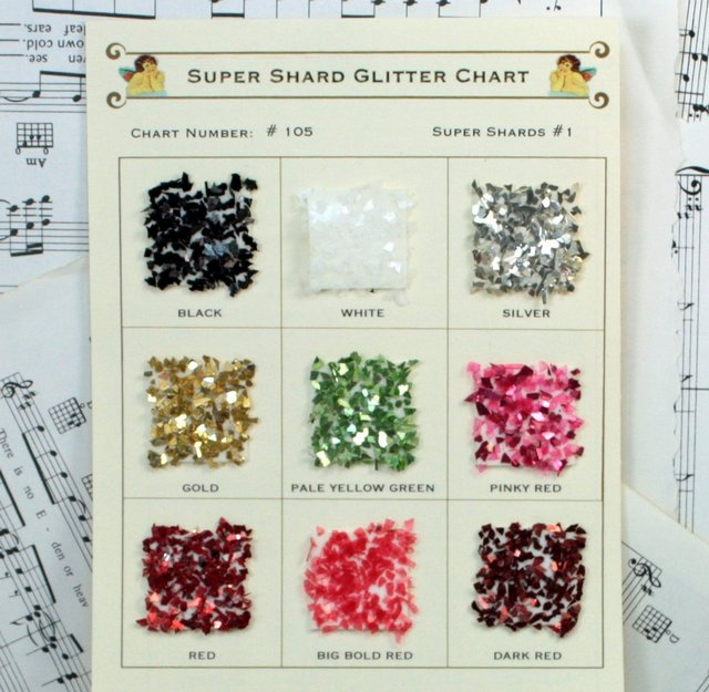 Sample Cards - Natural Tones Super Shards - 105