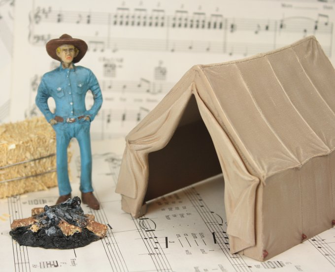 "Camping Tent 3"" - G SCALE - #265-0704"