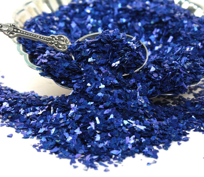 Blue - Dark Blue Super Shard Glitter