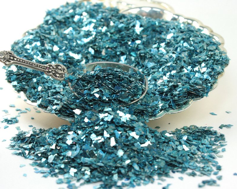 Blue - Light Blue Super Shard Glitter