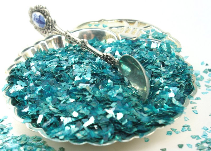 Blue - Teal Super Shard Glitter