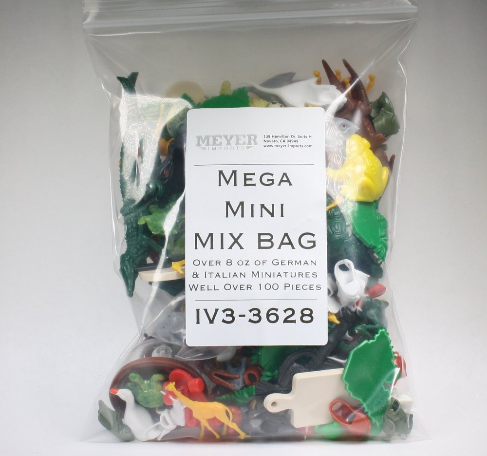 Mega Mini Mix Bag! Vintage Miniatures - 8+ oz - IV3-3628