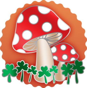 Mushrooms & Clovers